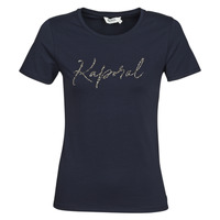 Clothing Women short-sleeved t-shirts Kaporal RAXI Marine