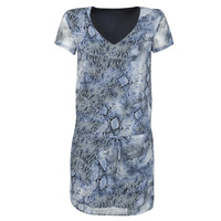 Clothing Women Short Dresses Ikks BQ30025-44 Blue