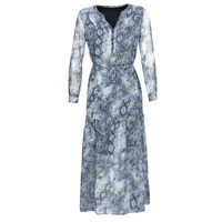 Clothing Women Long Dresses Ikks BQ30285-45 Blue