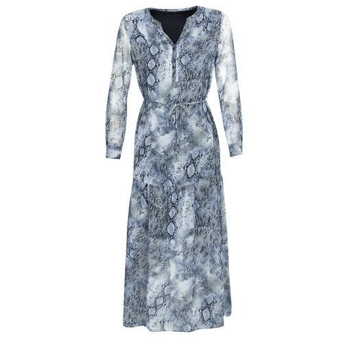 Clothing Women Long Dresses Ikks BQ30285-45 Blue