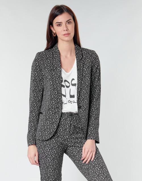 Clothing Women Jackets / Blazers Ikks BQ40025-03 Black