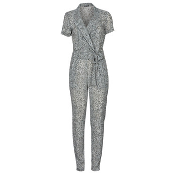 Clothing Women Jumpsuits / Dungarees Ikks BQ32045-03 Black / White