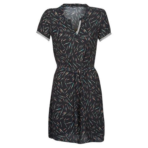 Clothing Women Short Dresses One Step ROSA Black