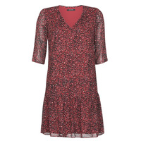Clothing Women Short Dresses One Step RINDA Bordeaux