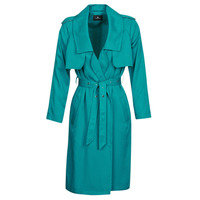 Clothing Women Trench coats One Step DAWY Blue