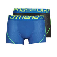 Underwear Men Boxer shorts Athena AIR PERFORMANCE Black / Blue