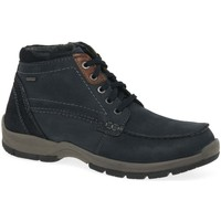 Shoes Men Mid boots Josef Seibel Lenny 50 Mens Waterproof Boots blue