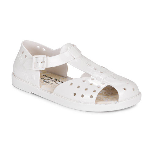 Shoes Women Sandals Melissa ABAYA White
