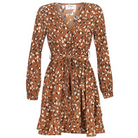 Clothing Women Short Dresses Betty London LISONS Brown