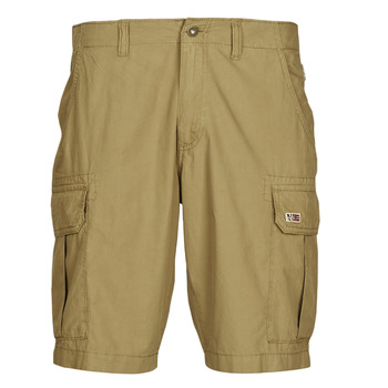 Clothing Men Shorts / Bermudas Napapijri NOTO 4 Camel