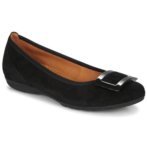 Shoes Women Flat shoes Gabor KITITPI Black