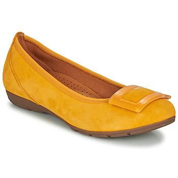 Shoes Women Flat shoes Gabor KASTIPON Yellow