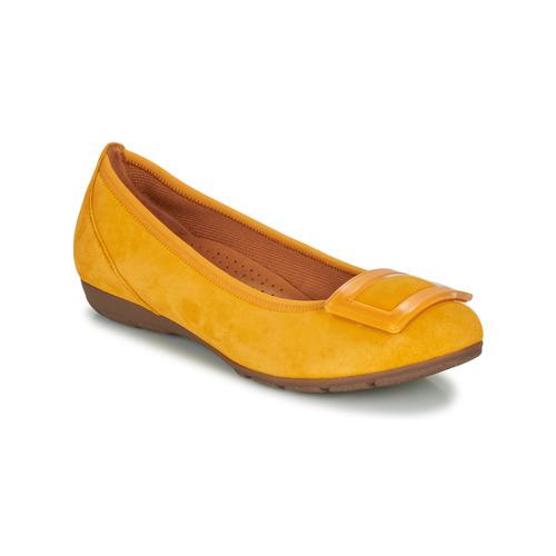 Shoes Women Flat shoes Gabor KASTIPON Yellow