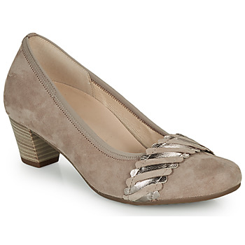 Shoes Women Heels Gabor KEBAME Beige