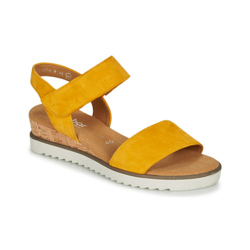 Shoes Women Sandals Gabor KARIBITOU Yellow