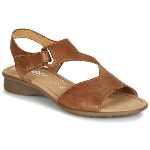 Shoes Women Sandals Gabor KESTE Cognac