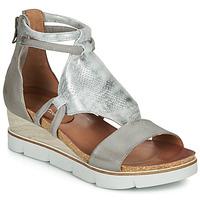 Shoes Women Sandals Dream in Green IRABIEN Silver