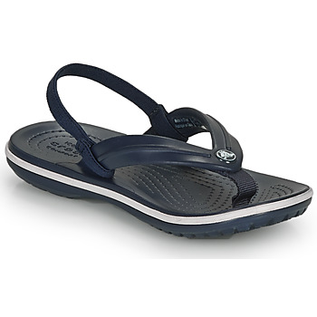 Shoes Children Flip flops Crocs CROCBAND STRAP FLIP K Marine