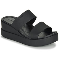 Shoes Women Sandals Crocs CROCS BROOKLYN MID WEDGE W Black