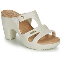 Shoes Women Mules Crocs CYPRUS V HEEL W White