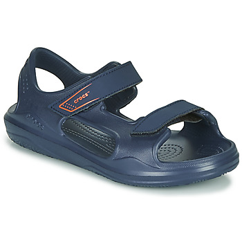 Shoes Children Outdoor sandals Crocs SWIFTWATER EXPEDITION SANDAL K Marine