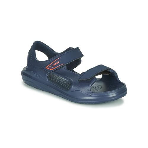 Shoes Children Sandals Crocs SWIFTWATER EXPEDITION SANDAL K Marine