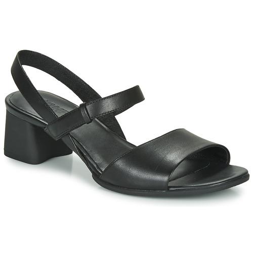 Shoes Women Sandals Camper KATIE SANDALES Black