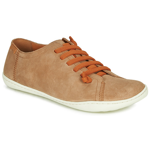 Shoes Women Derby Shoes Camper PEU CAMI Beige / Dark