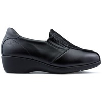 Shoes Women Loafers Dtorres Loafers  TURIN SPECIAL WIDTH BLACK