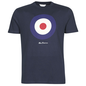 Clothing Men short-sleeved t-shirts Ben Sherman SIGNATURE TARGET TEE Marine