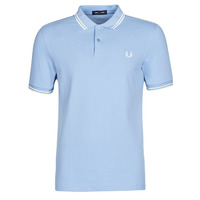 Clothing Men Short-sleeved polo shirts Fred Perry TWIN TIPPED FRED PERRY SHIRT Blue