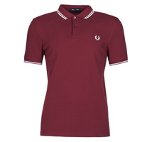 Clothing Men Short-sleeved polo shirts Fred Perry TWIN TIPPED FRED PERRY SHIRT Bordeaux