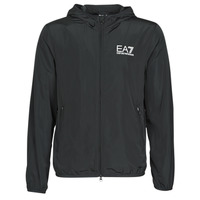 Clothing Men Macs Emporio Armani EA7 TRAIN CORE ID M JACKET Black
