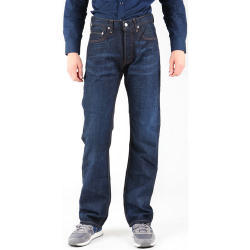 Clothing Men Straight jeans Levi's Levis 758-0028 navy