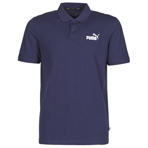 Clothing Men short-sleeved polo shirts Puma PIQUE POLO Marine