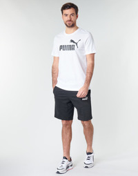 Clothing Men Shorts / Bermudas Puma JERSEY SHORT Black
