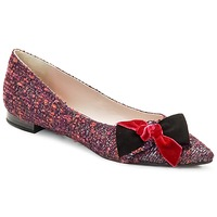 Shoes Women Flat shoes Magrit Rosy Knot Multicoloured / Pink