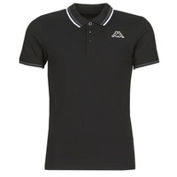 Clothing Men short-sleeved polo shirts Kappa ESMO Black