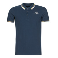 Clothing Men Short-sleeved polo shirts Kappa ESMO Blue