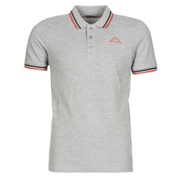 Clothing Men short-sleeved polo shirts Kappa ESMO Grey