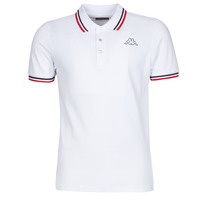 Clothing Men Short-sleeved polo shirts Kappa ESMO White