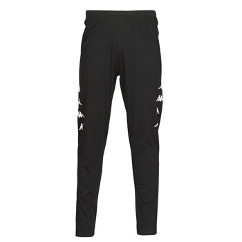 Clothing Men Tracksuit bottoms Kappa KOLRIK  black / White