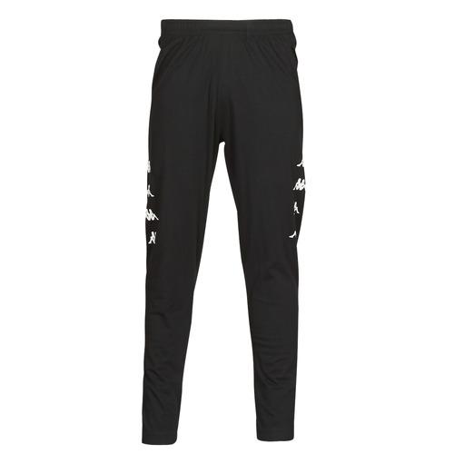Clothing Men Tracksuit bottoms Kappa KOLRIK Black