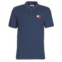 Clothing Men Short-sleeved polo shirts Tommy Jeans TOMMY BADGE POLO Marine