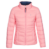 Clothing Women Duffel coats Tommy Jeans MODERN DOWN JKT Pink