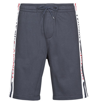Clothing Men Shorts / Bermudas Tommy Jeans TJM BRANDED TAPE SHORT Marine