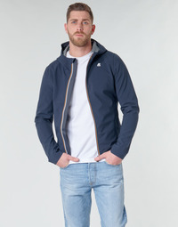 Clothing Men Jackets K-Way JACK BONDED Marine