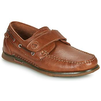 Shoes Men Boat shoes Fluchos POSEIDON Brown