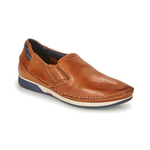 Shoes Men Slip-ons Fluchos JAMES Brown / Marine