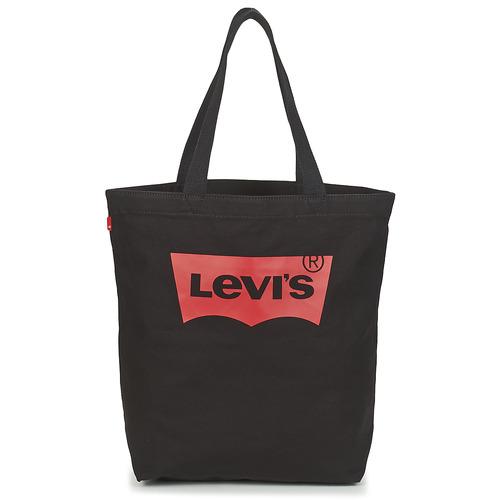 Bags Women Shopping Bags / Baskets Levi's BATWING TOTE Black